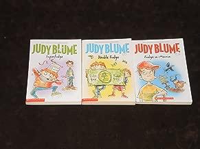 Judy Blume Set of Three Books: Fudge-A-Mania / Superfudge / Double Fudge