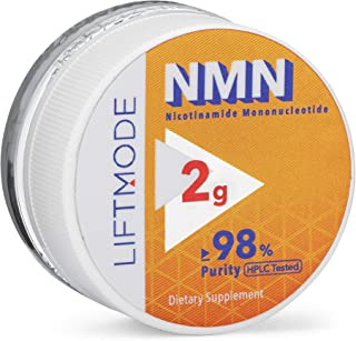LiftMode NMN (Nicotinamide Mononucleotide) Powder Supplement - Boosts Cellular Energy, Healthy Aging, & Sharpens Cognition...