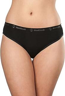 Modibodi Women's Period Menstrual and Incontinence Underwear in Heavy Absorbency - Classic Bikini Black
