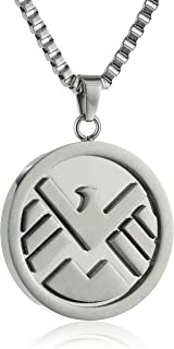 Salesone Marvel Shield Necklace with Chain 24' Steel