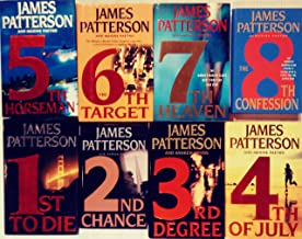 Patterson's WOMEN'S MURDER CLUB books 1 - 8 -- 1st to Die / 2nd Chance / 3rd Degree / 4th of July / 5th Horseman / 6th Tar...