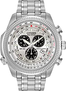 Men's Eco-Drive Chronograph Watch with Perpetual Calendar and Date, BL5400-52A