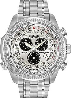Citizen - Reloj Deportivo de Acero Inoxidable Eco-Drive #BL5400-52A para Hombre