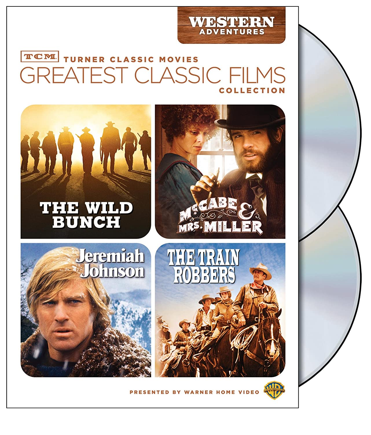 TCM Greatest Classic Films Collection: Adventures W Western Luxury Courier shipping free shipping goods The