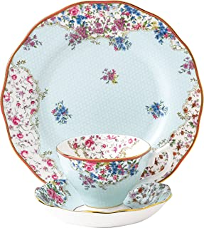 Royal Albert Candy Collection 3-Piece Tea Set, 8