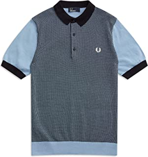 Men's Two-Color Knitted Shirt