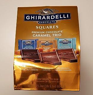 Ghirardelli Caramel Trio Chocolate Squares Premium Chocolate Assortment ( 21.3 Oz)
