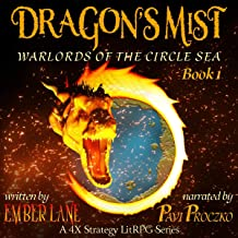 Dragon's Mist (A 4X Strategy LitRPG Series): Warlords of the Circle Sea, Book 1