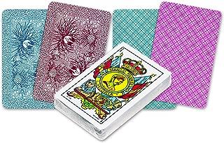 Color Rojo /Napoletane Italia Cartas de Piamonte Dal Negro 10071/