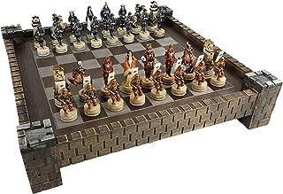 Japanese Samurai Warrior Oriental Chess Set w/ 17