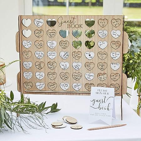 Wedding Guest Book Alternative Wedding Guest book Alternative Wood Wedding stars Wedding guestbook wedding 100 Guest printable Wood art 103