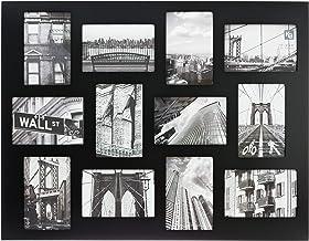 "kieragrace KG Napa Hanging Collage Photo Frame - 18.5"" x 24"", Fits 12 - 4"" x 6"" Photos, Black"
