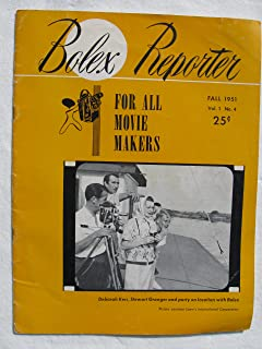 Bolex Reporter for All Movie Makers, Vol. 1, No. 4 Fall 1951