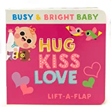 Hug Kiss Love (Children's Lift-a-Flap Board Book Gifts for Little Valentines, Mother's & Father's Day, Birthdays, Ages 0-4...