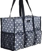 Pursetti Teacher Bag with Pockets - Perfect Gift for Teacher's Appreciation and Christmas (Pop Lights)
