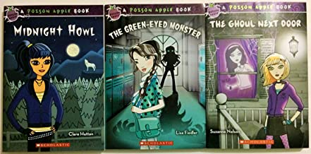 A Poison Apple Book 3 Book Set Includes: The Green Eyed Monster - The Ghoul Next Door - Midnight Howl