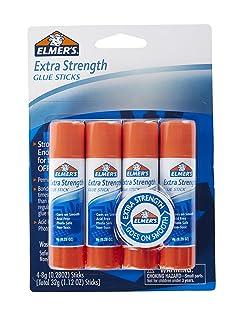 Elmer's Extra Strength Glue Sticks, 0.28 Ounces, 4 Count