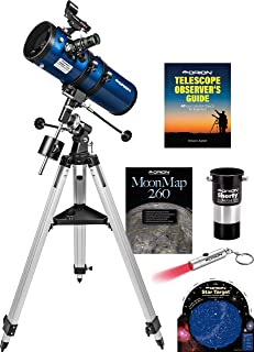 orion starblast 4.5 eq reflector telescope