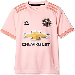 adidas 2018-2019 Man Utd Away Football Soccer T-Shirt Jersey (Kids)