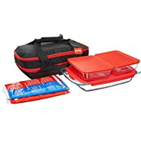 Pyrex Portables 9-Piece Glass Bakeware and Food Storage Set