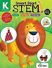 Evan-Moor Smart Start STEM Grade K Activity Book Hands-on STEM Activities for Critical Thinking Skills