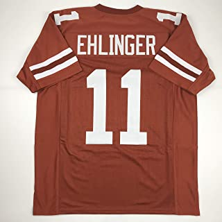 Unsigned Sam Ehlinger Texas Orange College Custom Stitched Football Jersey Size Men's XL New No Brands/Logos