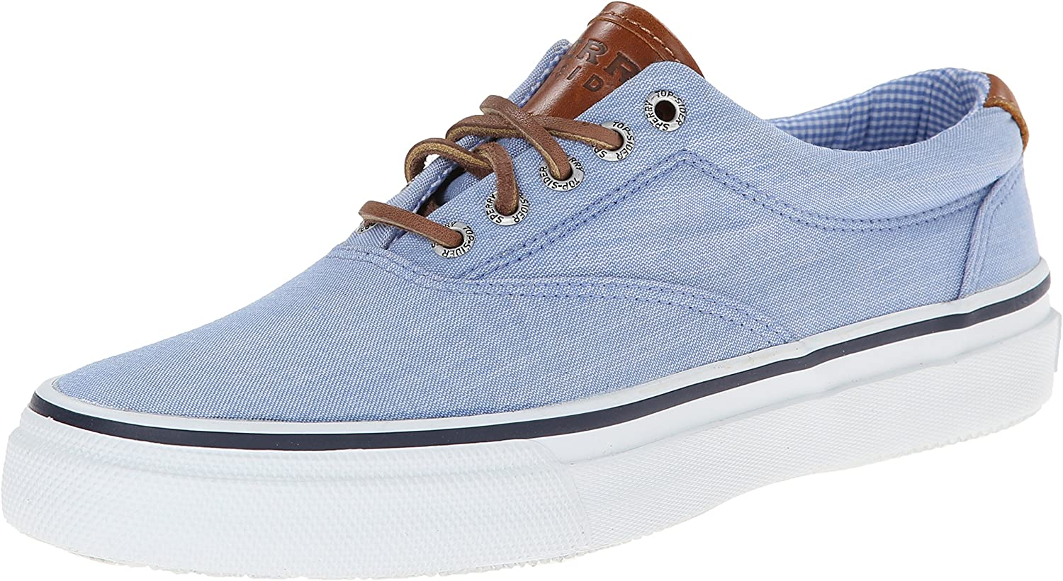 Sperry Top-Sider Striper Mens Synthetic Material Canvas shoes bluee