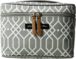 petunia pickle bottom - Glazed Travel Train Case