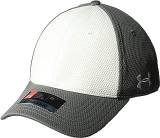Under Armour Men's Armour color blocked stretch fit cap