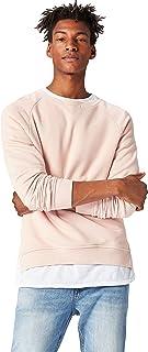 Amazon Brand - find. Men's Cotton Raglan Crew Neck Sweatshirt