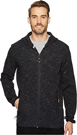Quiksilver Waterman - Tech Fleece Zip-Up Hoodie