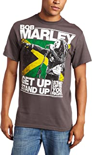 Zion Rootswear Men's Marley Get Up Stand Up T-Shirt