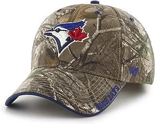 MLB Toronto Blue Jays Frost MVP Adjustable Hat, One Size, Realtree Camouflage
