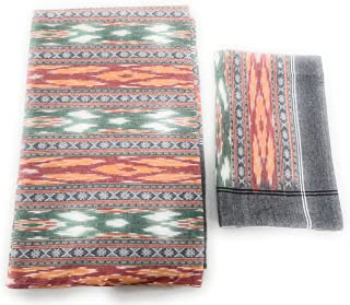 Ikkat India Handloom weaved sambalpuri bedsheets bedcover king size cotton linen double bed sheets