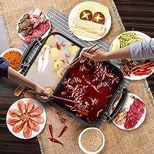 Draagbare elektrische kookmachine voor thuisgebrui Draagbare elektrische grill, elektrische Barbecue Grill Hot Pot Chafing...