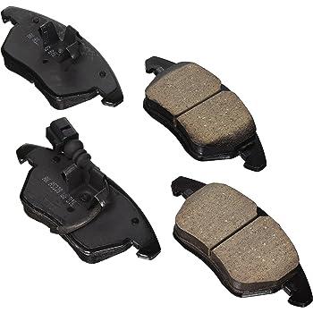 Disc Brake Pad Set-Euro Ultra Premium Ceramic Pads Rear Akebono EUR1613
