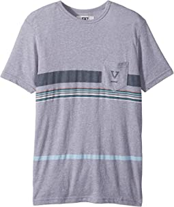 VISSLA Kids - Dredges II Short Sleeve Pocket Tee (Big Kids)