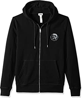 Diesel Men's Brandon Mohican Zip Hooded Sweatshirt
