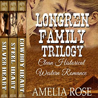 Longren Family Trilogy: Clean Historical Western Romance