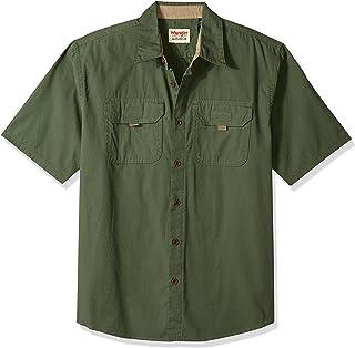 Authentics Men's Short Sleeve Canvas Shirt