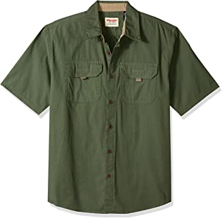 Authentics Men's Short Sleeve Canvas Shirt