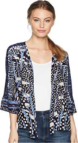 NIC+ZOE Petite Pacific Coast Four-Way Cardy
