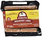 Aidells Smoked Chicken Sausage Breakfast Links, Maple & Smoked Bacon, 8 oz. (10 Fully Cooked Links)