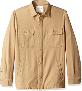 Amazon Brand - Goodthreads Men's Military Broken Twill Shirt Jacket