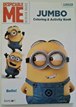 Minions Despicable Me Jumbo Coloring & Activity Book