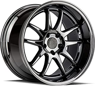 AodHan DS02 Wheel - Black Vacuum: 19x11 Wheel Size; 5x114.3 Lug Pattern; 73.1mm Hug Bore; 22mm Off Set.