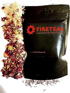 Sponsored Ad - FIRETEAS - Royal Rose Bath Salts with Saffron - Dead Sea Salt, Himalayan Salt, Saffron Threads, Rose Petals...