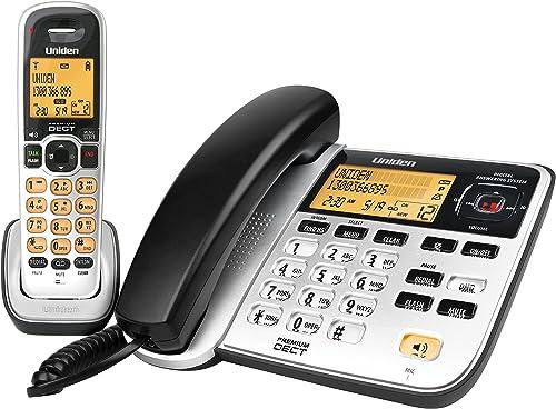 Uniden DECT 2145+1 - Premium DECT Digital - 2 in 1(Corded + Cordless) Phone System