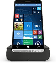 HP Elite X3 Y1M46EA#ABU 64GB eMMC Dual-SIM (GSM Only, No CDMA) Factory Unlocked 4G/LTE Smartphone with Desk Dock (Graphite) - International Version with No Warranty