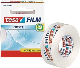 tesa 德莎 德国进口 薄膜水晶胶带 尺寸为33m*19mm 57928-00000